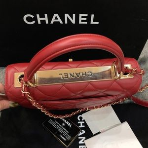 CHANEL Bags - 2017-Small Chanel CC Trendy. Code 23. 100% Authent